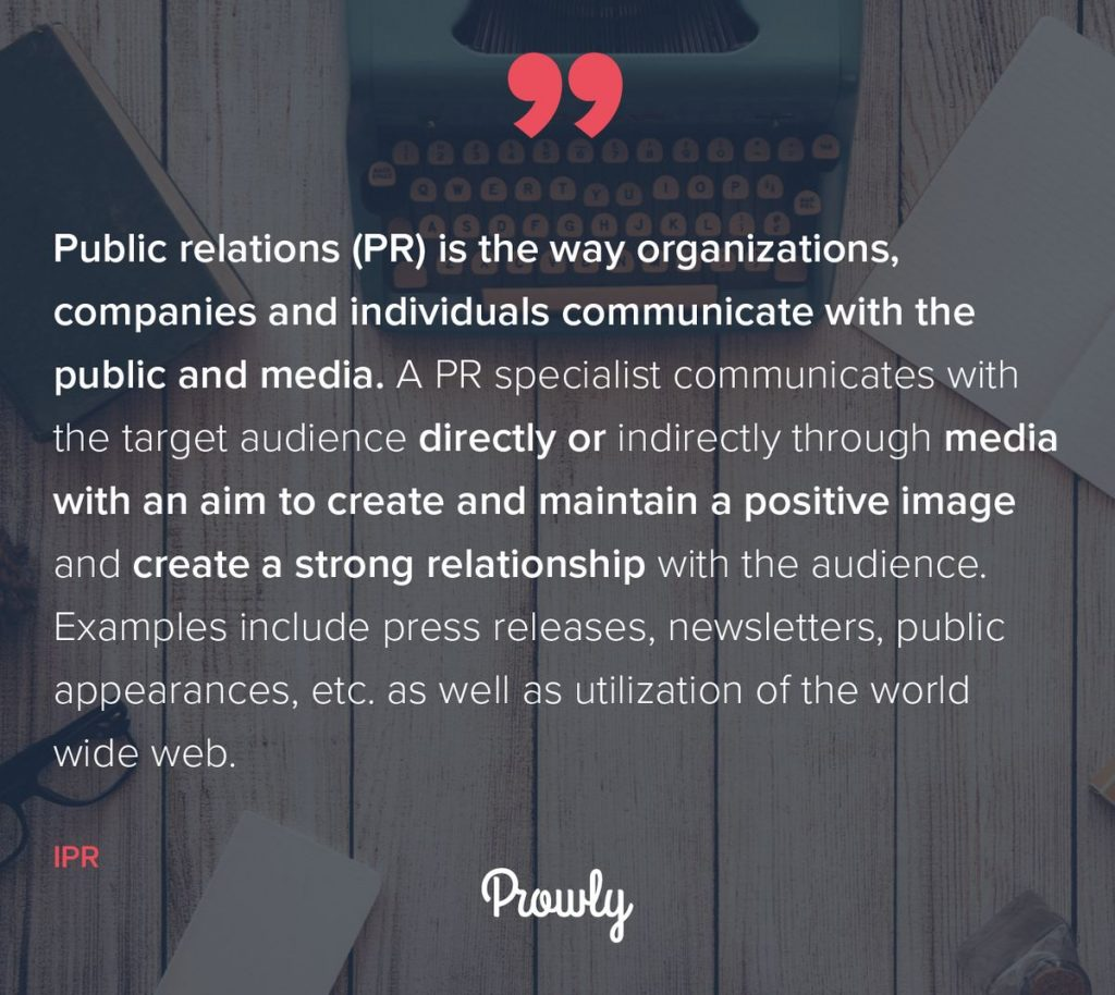 What Is Public Relations 15 Definitions From Pr Practitioners