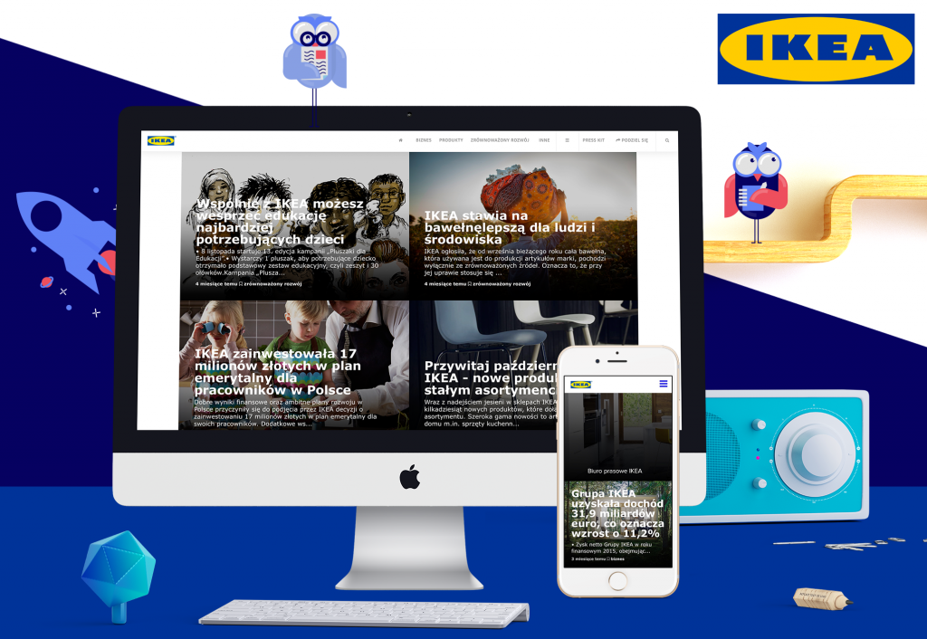 Learn from the best most effective brand newsroom concepts for Concept ikea