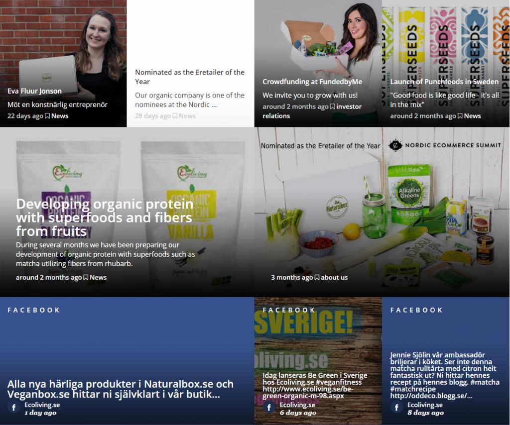 Naturalbox Veganbox Ecoliving International AB - Brand Journal