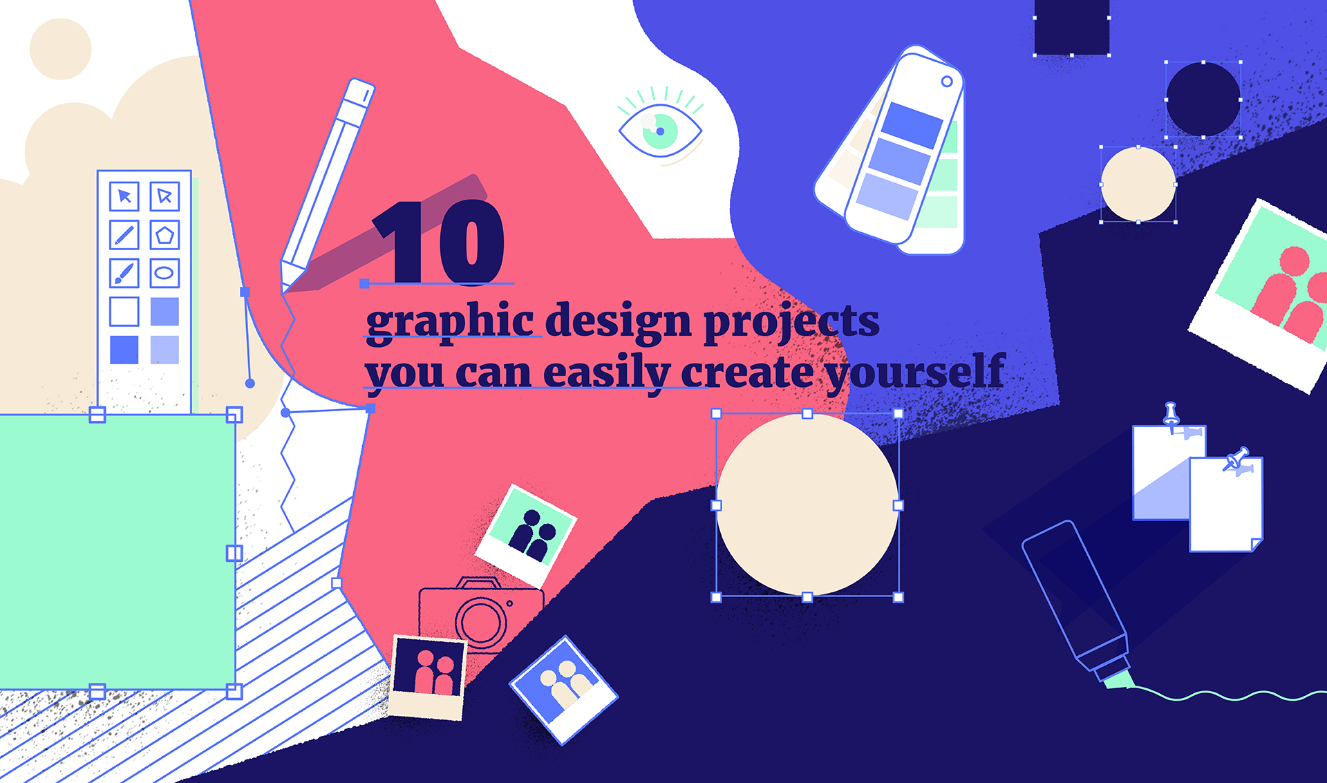 10 Graphic Design Projects You Can Easily Create Yourself
