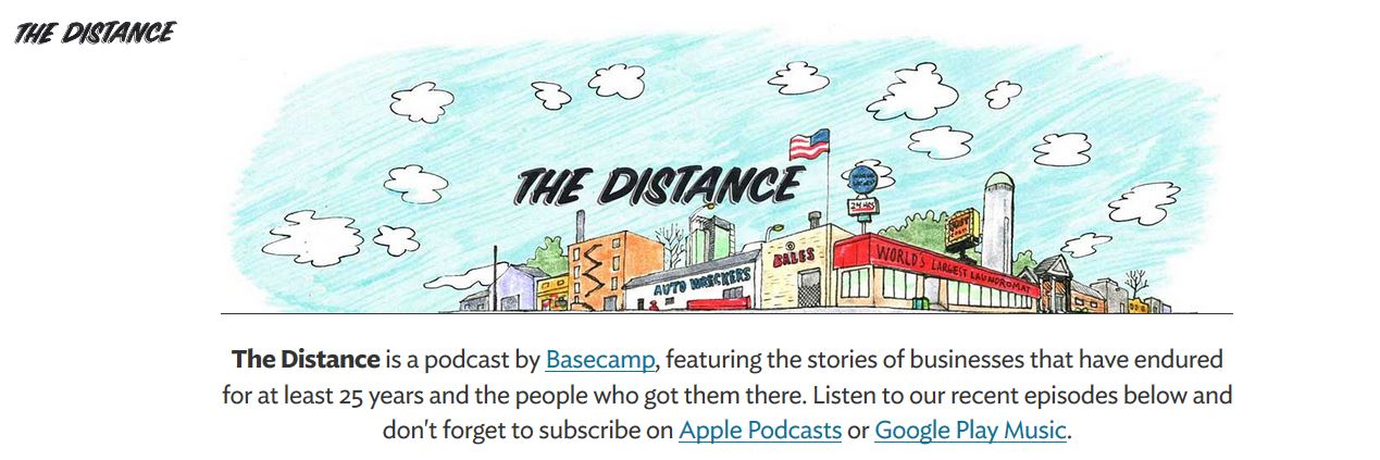 Bsecamp_The Distance - HOW TO BOOST YOUR B2B CONTENT WITH A BRAND JOURNALIST