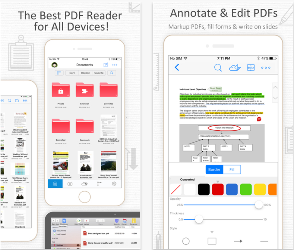 10 Best 10 Mobile Apps For Content Creation - PDF Reader