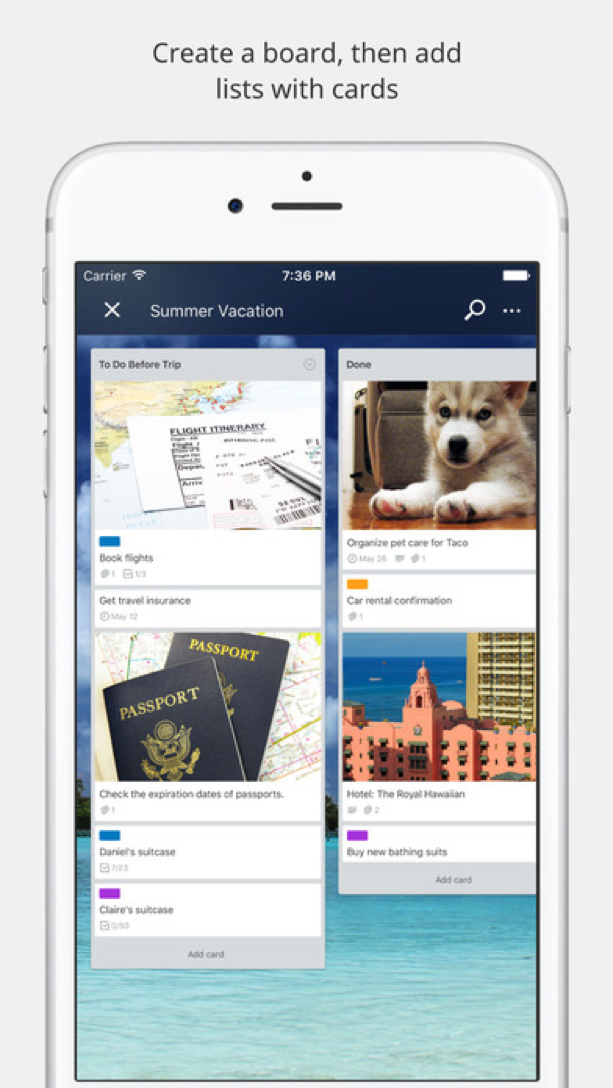10 Best 10 Mobile Apps For Content Creation - Trello Mobile
