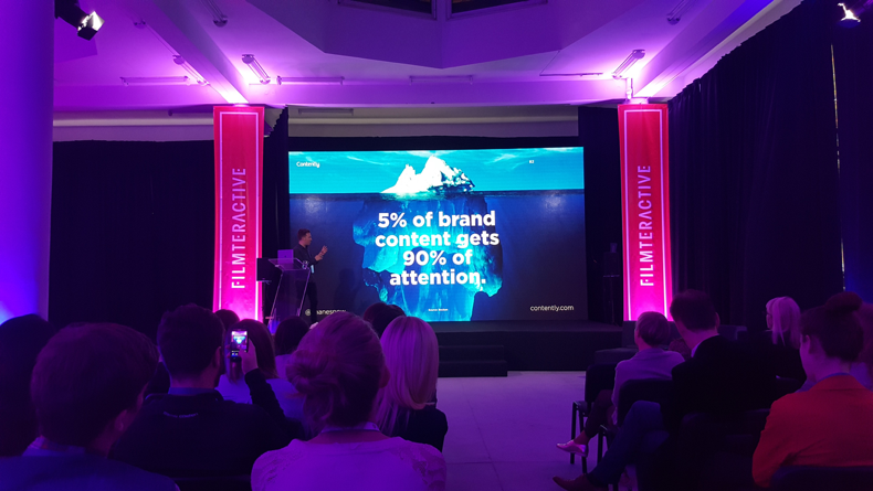 Shane Snow at Filmteractive Festival - Brand Content
