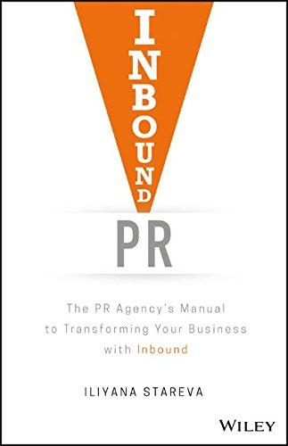Inbound PR - book by Iliyana Stareva