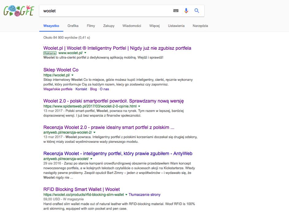 SEO PR Twoja strona w wynikach wyszukiwania