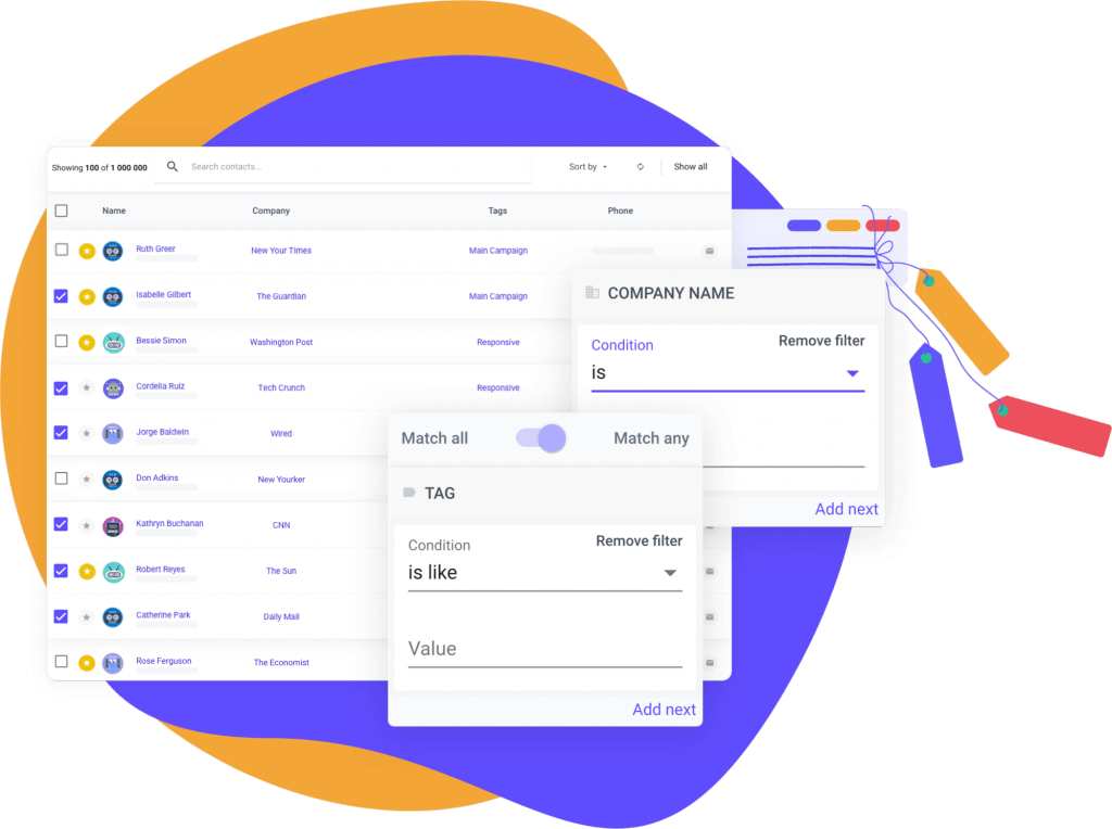 Media data base by Prowly