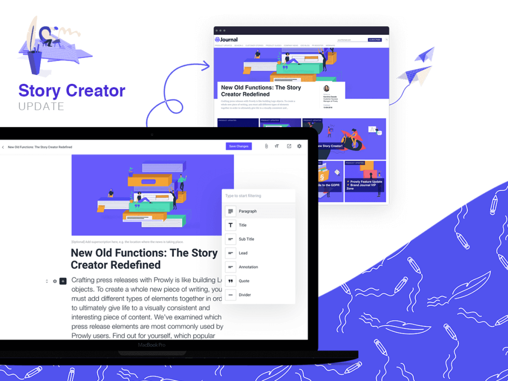 Story Creator by Prowly