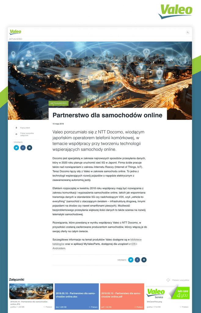 Partnerstwo dla samochodów online