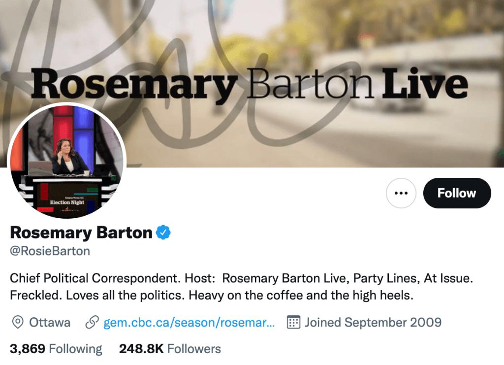 Rosemary Barton - Top Canadian journalists