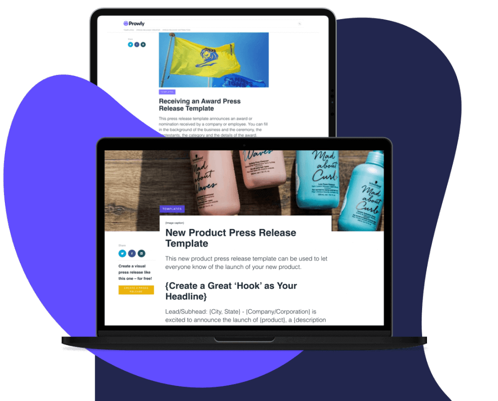 13 Free Press Release Templates For Any Occasion Download