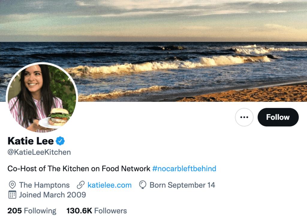 Katie Lee - Top food journalists