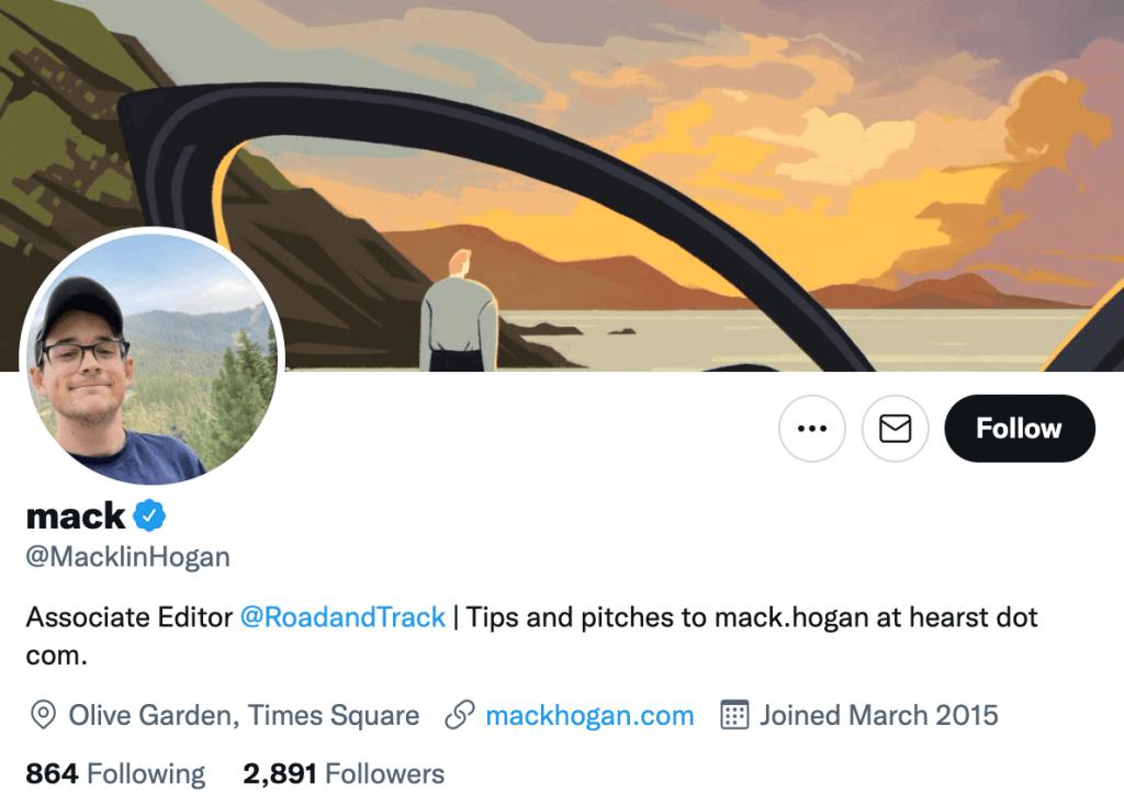 Mack Hogan - Top automotive journalists