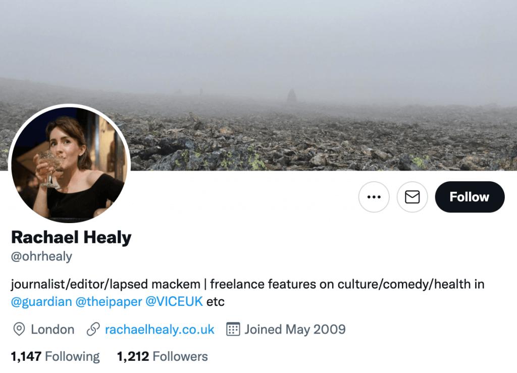 Rachael Healy - Top media journalist