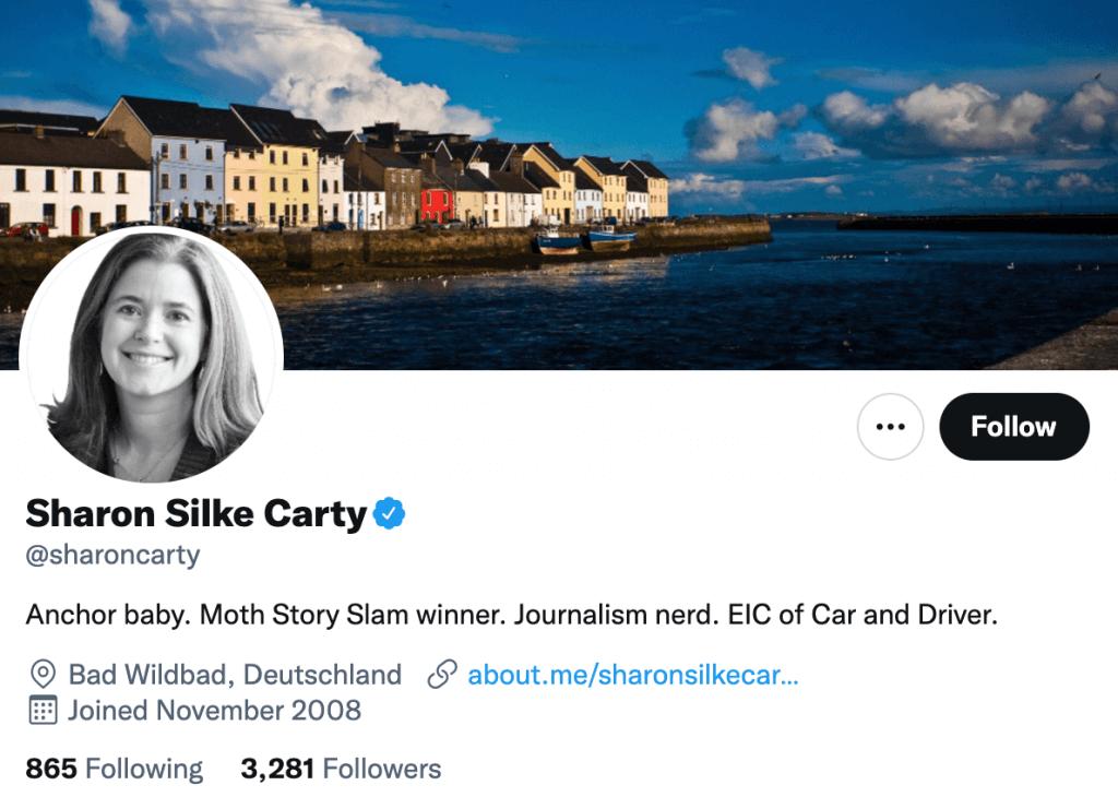 Sharon Silke Carty - Top automotive journalits