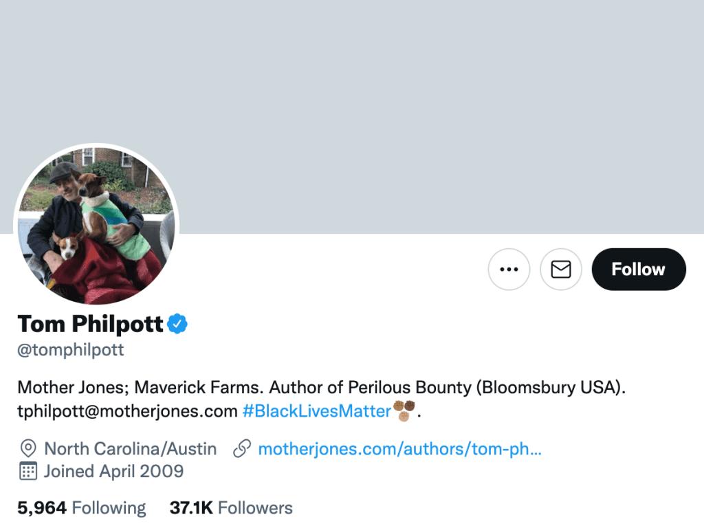 Tom Philpott - Top food journalists