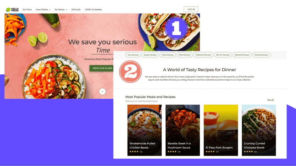 Brand awareness campaign by HelloFresh