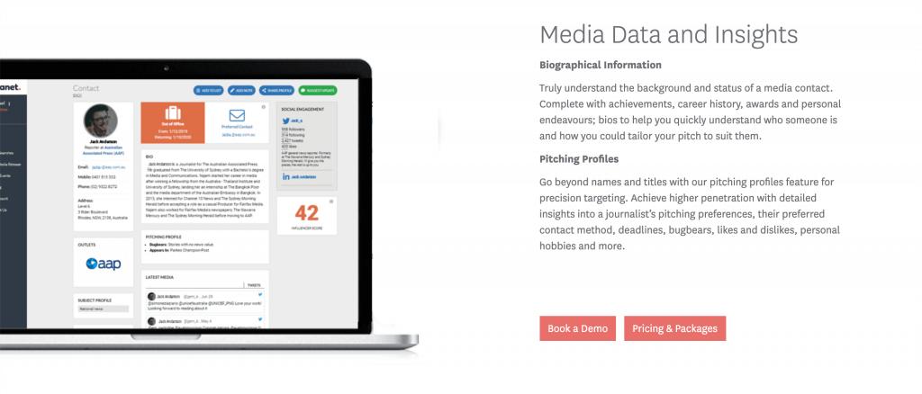 Medianet Australian Media Database
