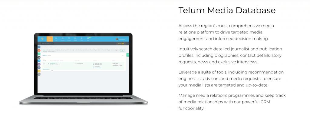 Telum Media - Australian Media Database