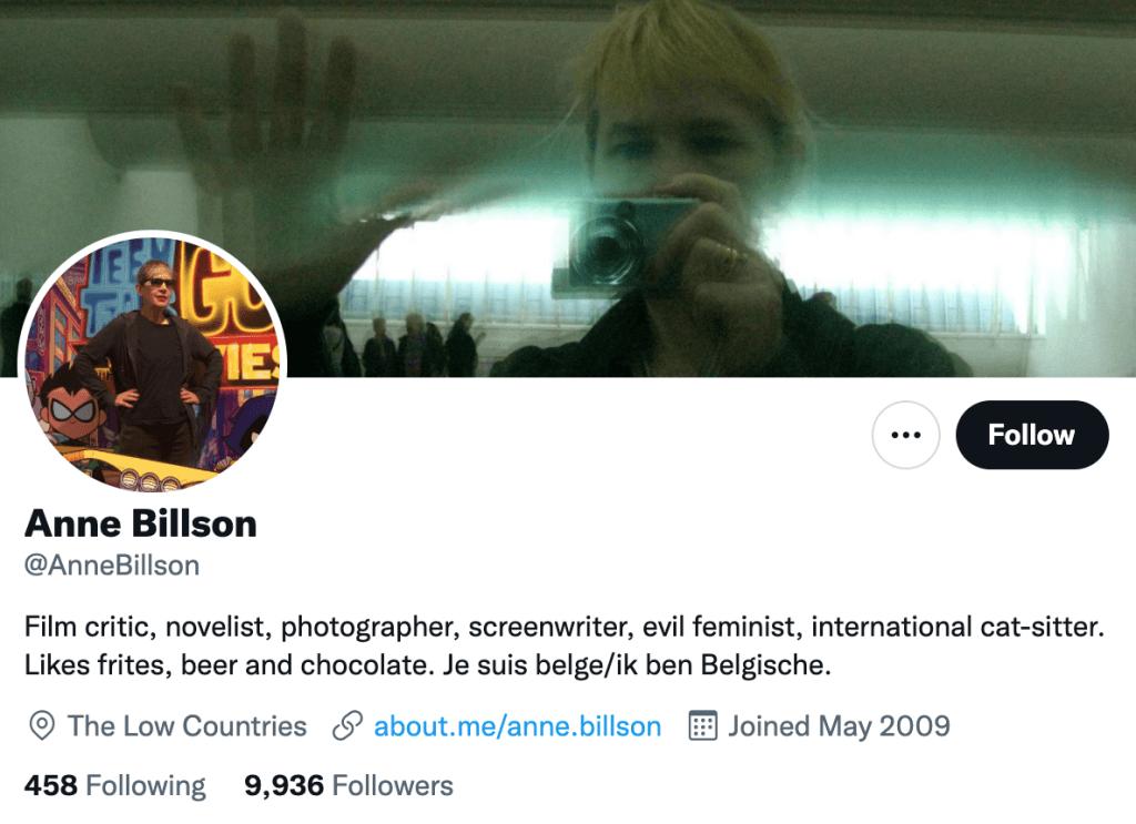 Anne Billson - Top movie journalist