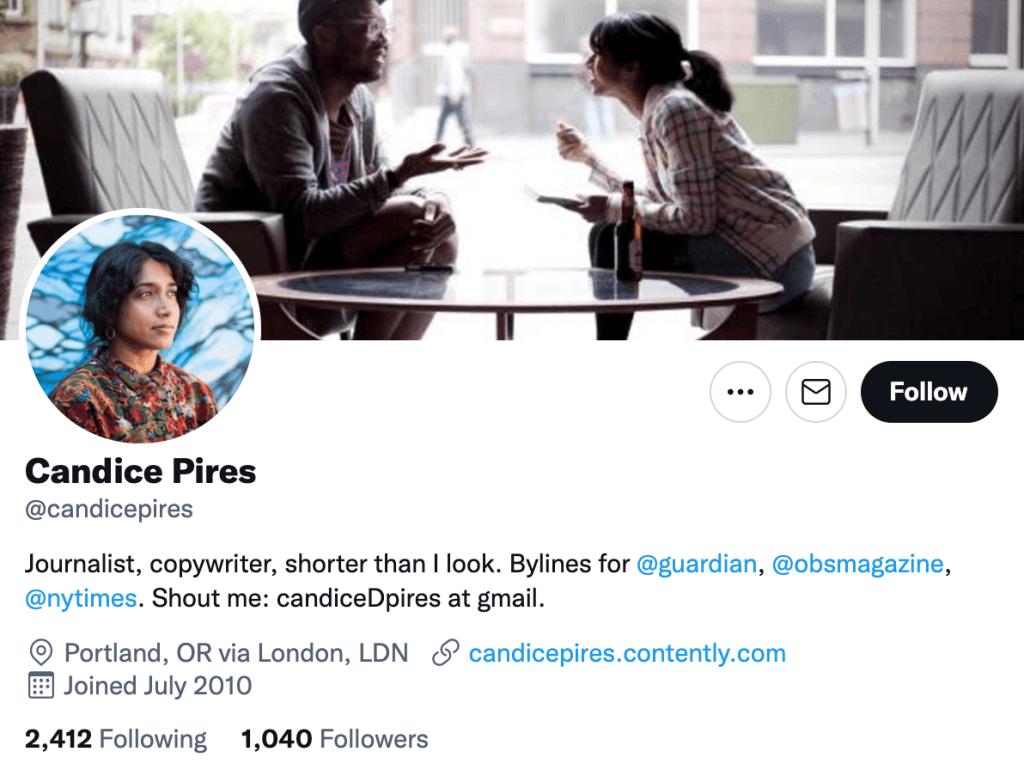 Candice Pires - Top lifestyle journalist