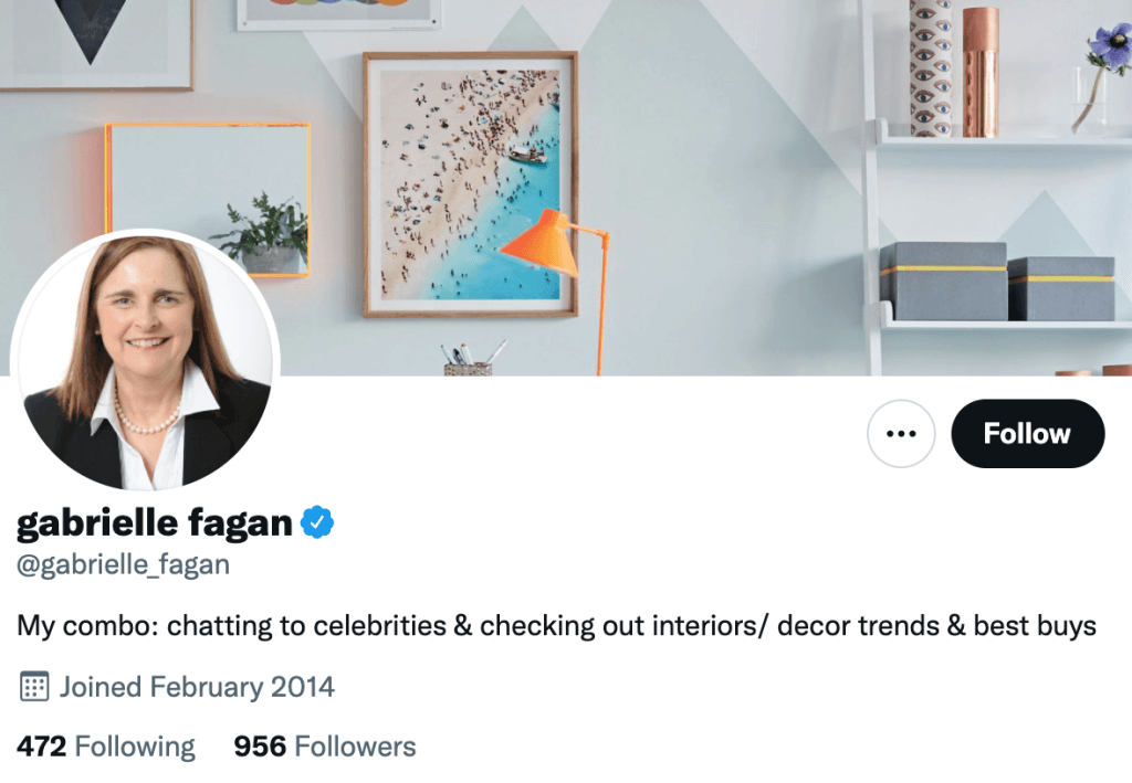 Gabrielle Fagan - Top design journalist