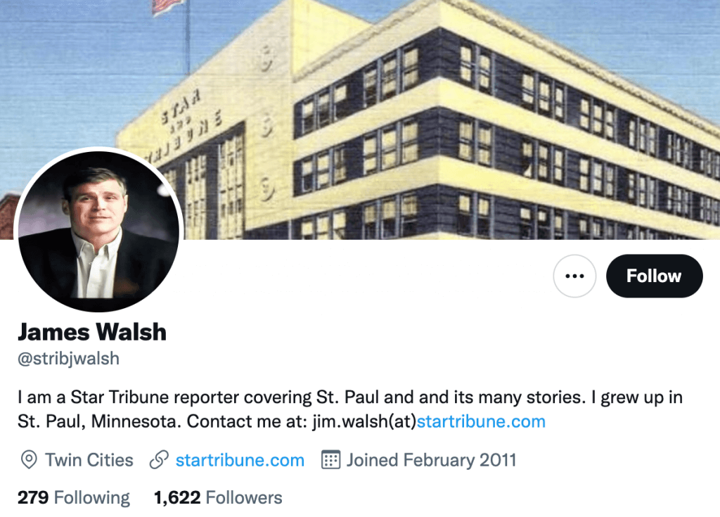 James Walsh - Top entertainment journalist