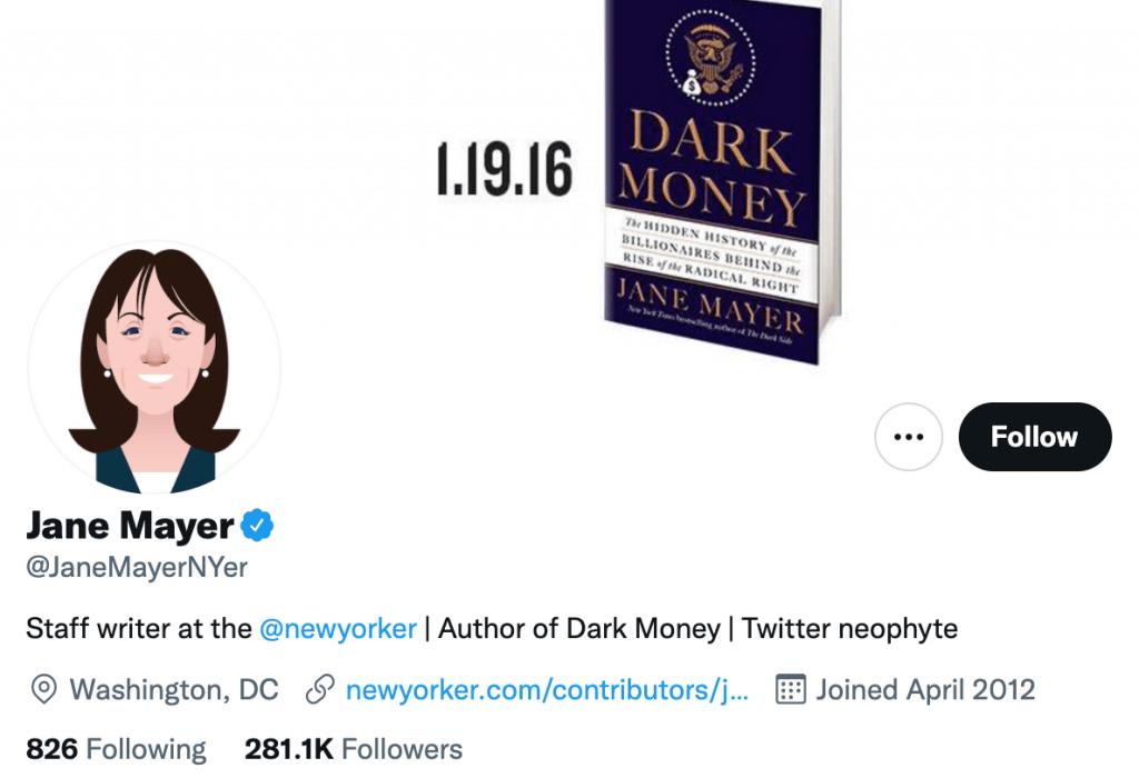 Jane Mayer - Top entertainment journalist