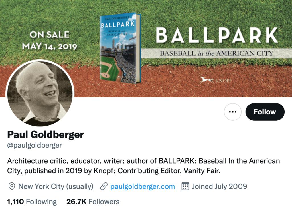 Paul Goldberger - Top design journalist