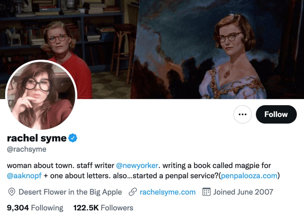 Rachel Syme - Top entartainment journalist