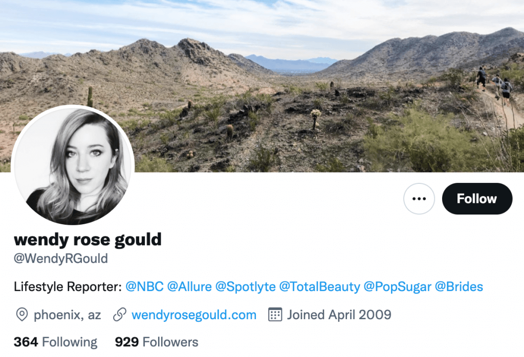 Wendy Rose Gould - Top lifestyle journalist