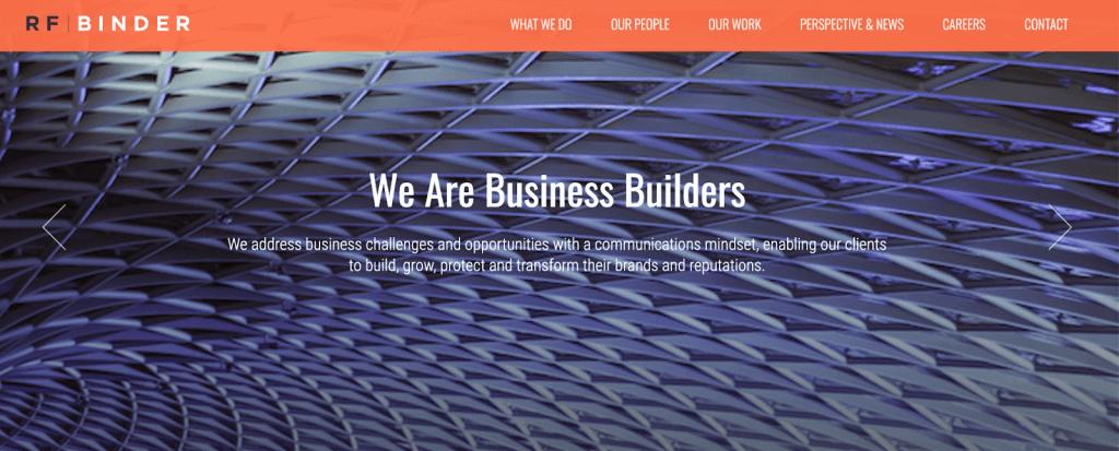 RF Binder - Top PR agency NYC