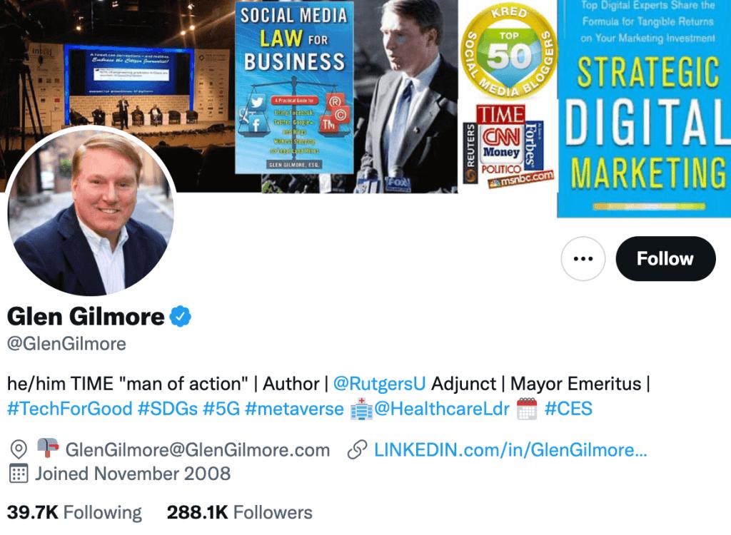 Glen Gilmore - Top healthcare journalist