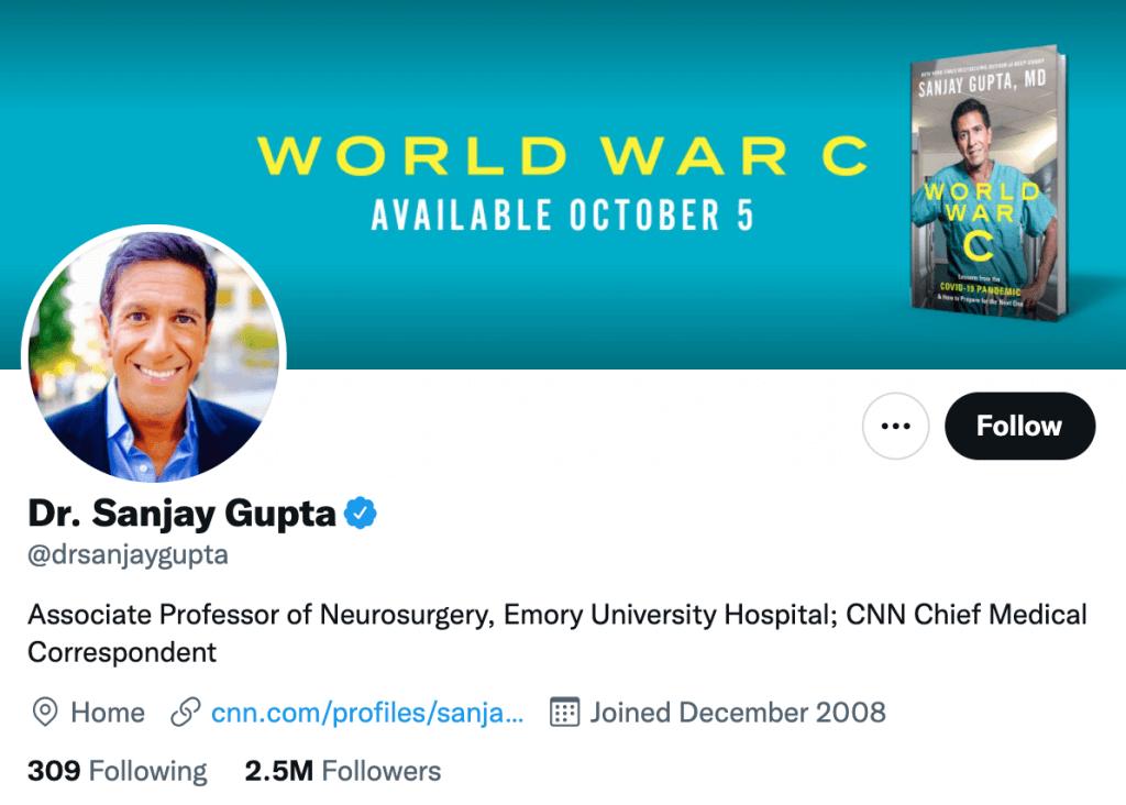 Sanjay Gupta - Top healthcare journalist